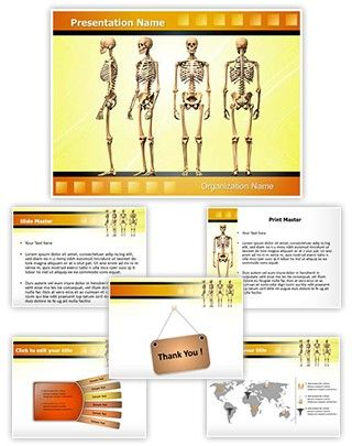 16 best arthritis powerpoint presentation templates images on, Skeleton