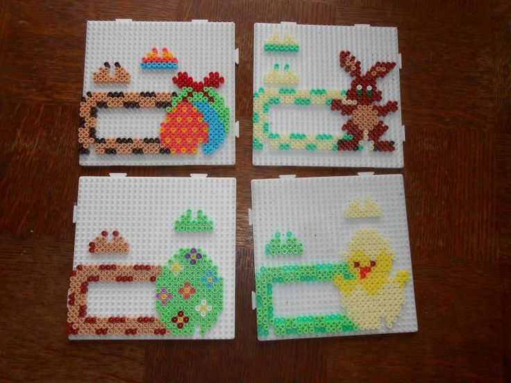 Easter frames hama beads by hardy8676