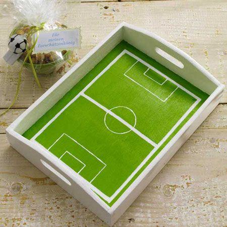 Bandeja cancha de futbol