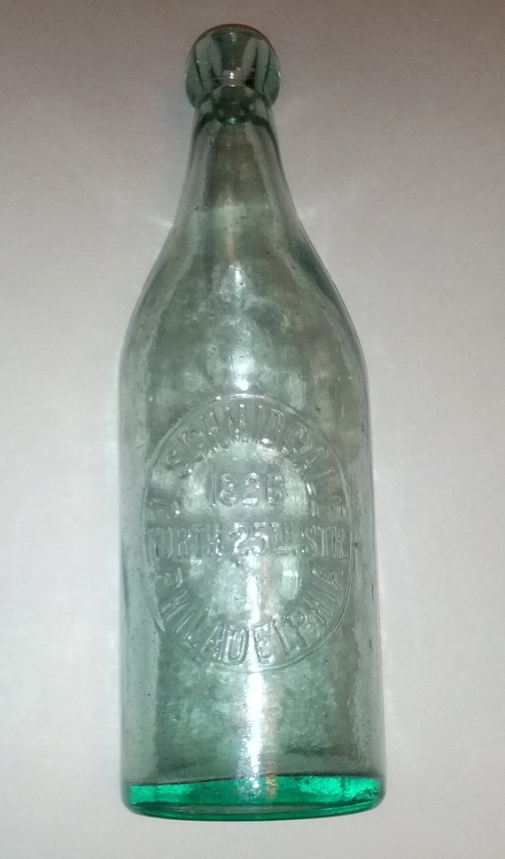 J Schmidgall Philadelphia Registered 1889 Blob Top Beer