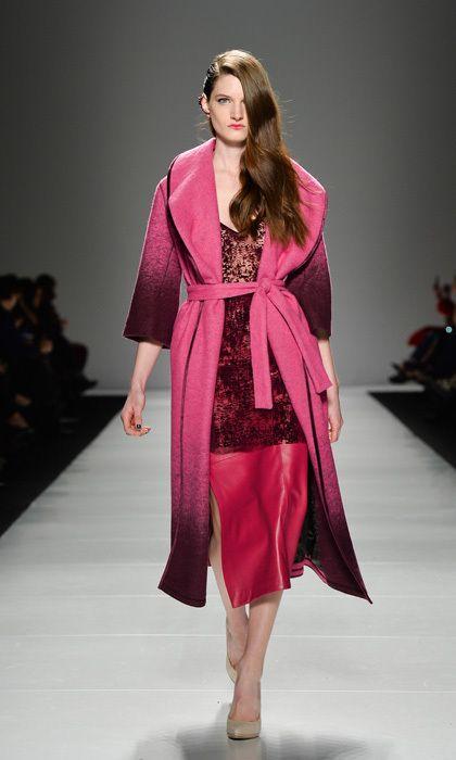 The complete Line Knitwear collection  #fashionweek #torontofashionweek #lineknitwear