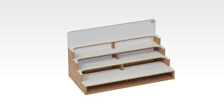Bottles Storage Module (OM05u) - perfect to organize your work place by AllScalesModels on Etsy