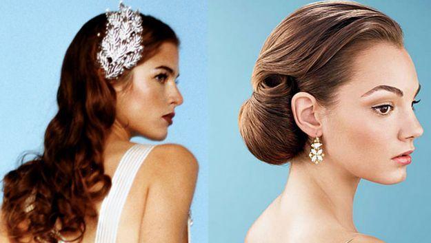 Eleganckie fryzury ślubne #wesele #slub #wedding #hair #hairstyle #bride #polkipl