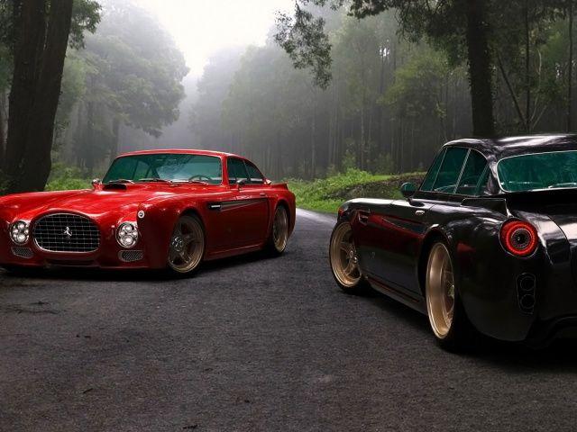 Classic Ferrari F340/♔ Style 2