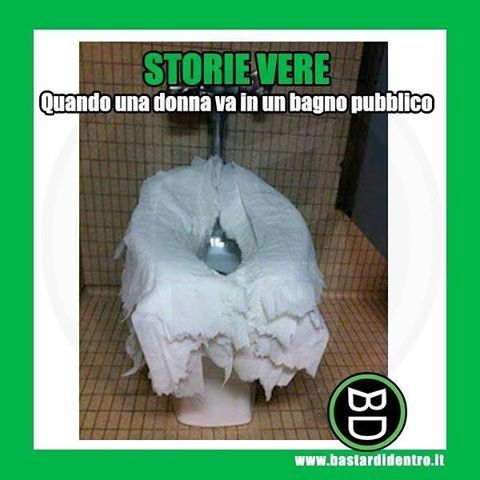 3077 best images about cose divertenti on pinterest keep - Ragazze spiate in bagno ...