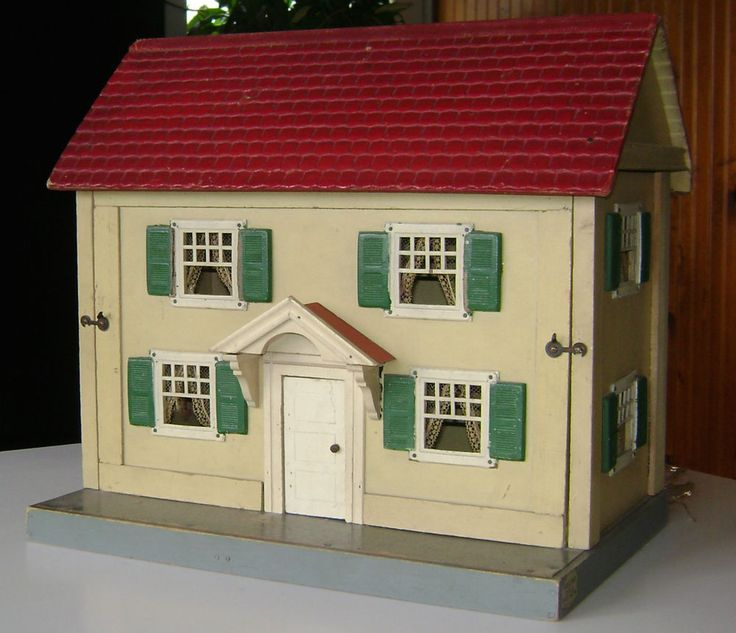 Schoenhut Two Story Doll House