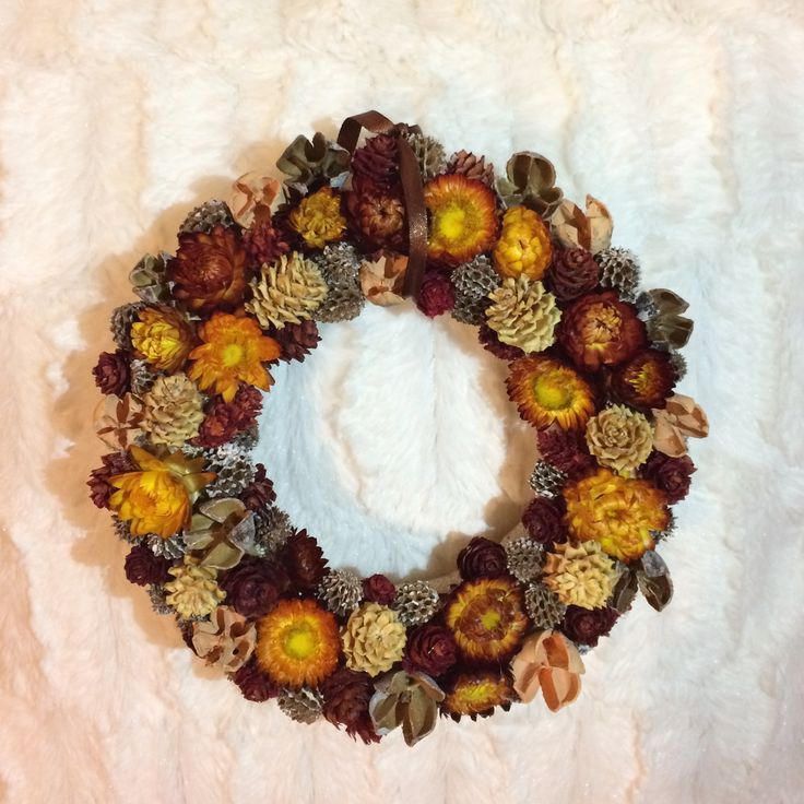 Autumn wreath, őszi kopogtató
