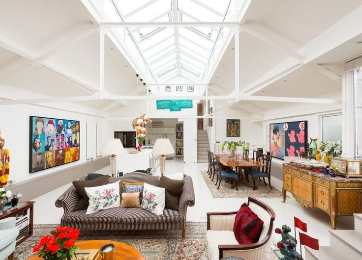 Warehouse Conversion by Ashley Isham in Lower Holloway, London