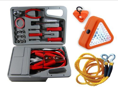 30Pc Emergency Automotive Kit in Hard Plastic Carrying Case W 39 LED Emergency Safety Flasher & 6000LB EMERGENCY TOW ROPE - https://www.caraccessoriesonlinemarket.com/30pc-emergency-automotive-kit-in-hard-plastic-carrying-case-w-39-led-emergency-safety-flasher-6000lb-emergency-tow-rope/  #30Pc, #6000LB, #Automotive, #Carrying, #Case, #Emergency, #Flasher, #Hard, #Plastic, #Rope, #Safety #Fall-Winter-Driving, #Safety-Kits
