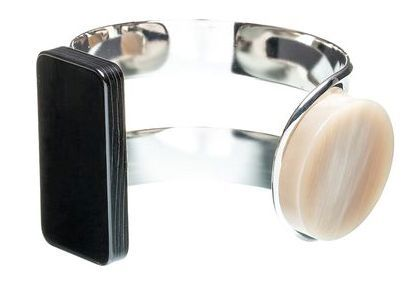 Marni BANGLE WITH BEADS IN HORN