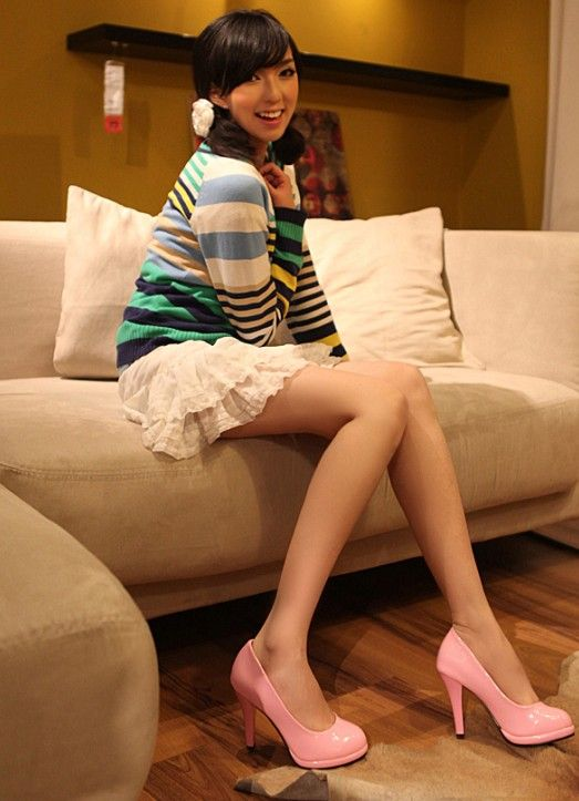 #Women Fashion#Women Fashion Shoes Sweet Girl's Round Toe High Heel Pink http://www.clothing-dropship.com/women-fashion-shoes-sweet-girls-round-toe-high-heel-pink-g2346631.html