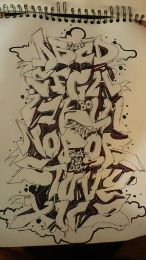 letras para graffitis - Taringa!