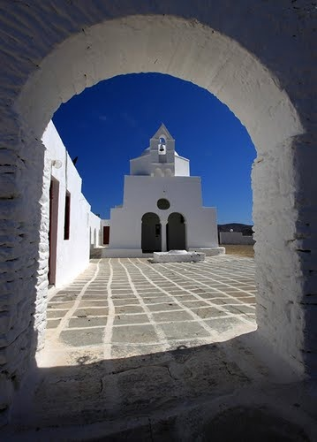 Church in Kythnos island, Cyclades, Greece. - Selected by www.oiamansion.com