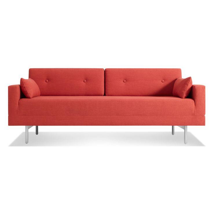 One Night Stand Sleeper Sofa - Craig Red