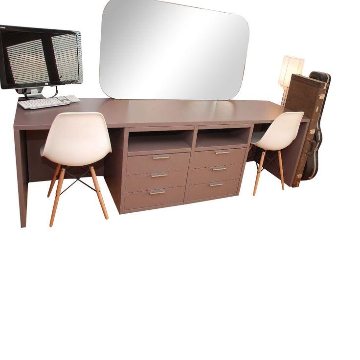 Poliform 6 Drawer Desk