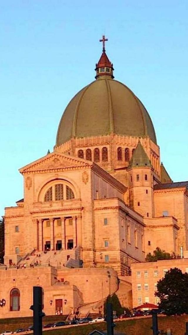 Saint Joseph's Oratory, Mount Royal, Montreal, Quebec, Canada, North America, Geography,