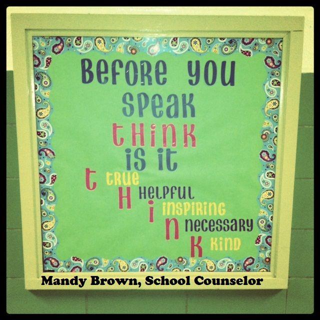 Classroom Bulletin Board Ideas High School : Back to school bulletin board ideas for high