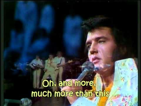 ▶ Elvis Presley - My Way (with lyrics) - YouTube