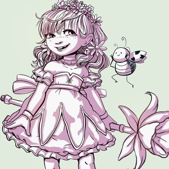 Magical March: flowers   #magicalmarch #magicalmarch2018 #artwork #art #artist #illustration #illustrator #drawingoftheday #drawing #digitalart #instaart #instaartist #artlife #artgallery #instadraw #artoftheday  #magicalgirl #neko #kawaii #cute
