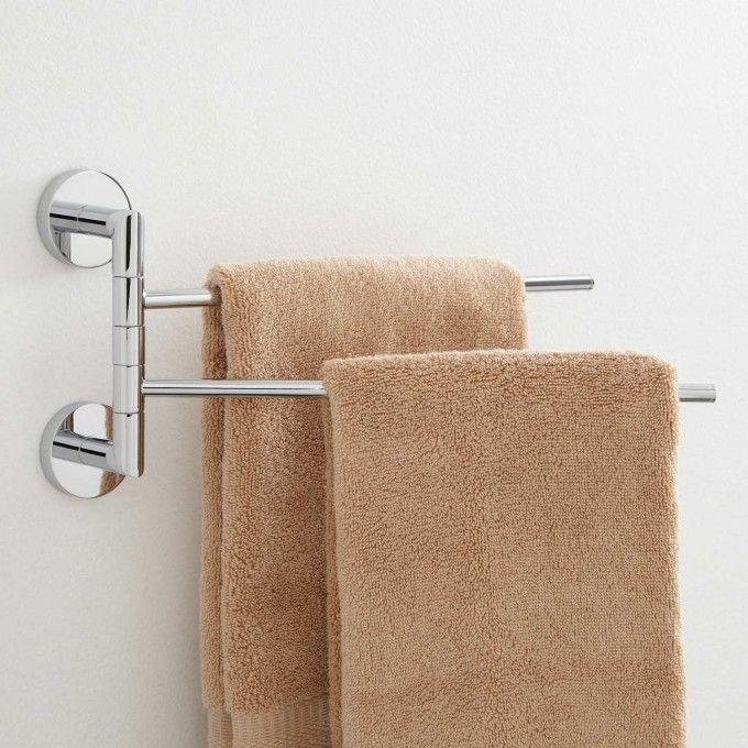 Colvin Double Swing Arm Towel Bar Bathroom Towel Bar Bathroom Towel Bar Towel Rack