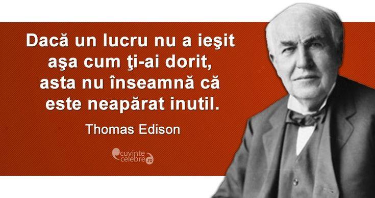 Citat Thomas Edison