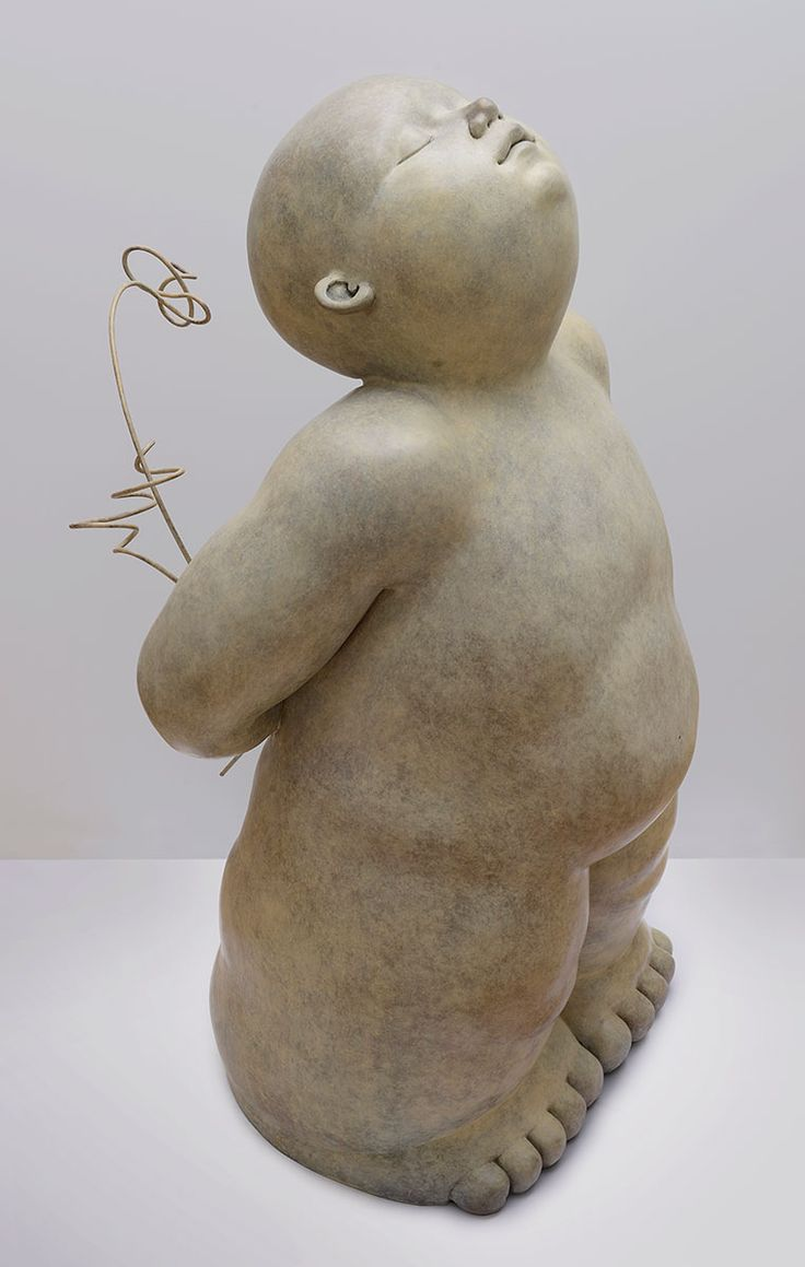 Cadeau - Bronze de Mariela Garibay #sculpture Melting Art Gallery Lille