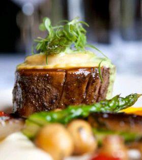 Braised Pork Belly!  http://kleinezalze.co.za/terroir.html