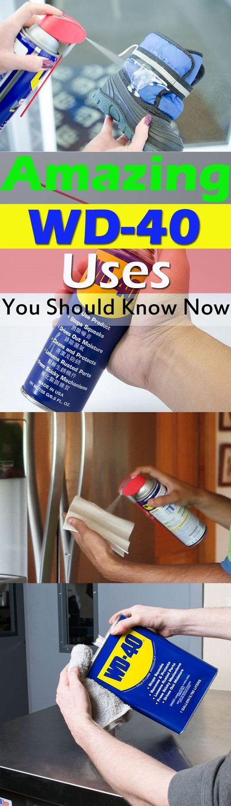 Also called a miracle spray, WD-40 is a multifunctional product and can be used efficiently in your home for many purposes. Check out these WD-40 USES to learn more!