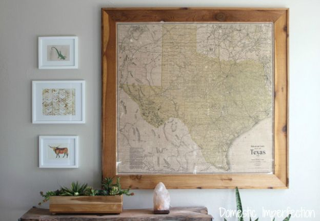 8 best photo wall ideas images on Pinterest | Antique maps, Framed ...