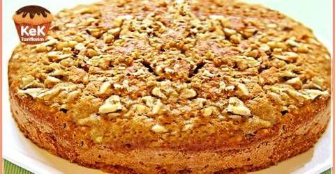 Muzlu Cevizli Tarçın Keki