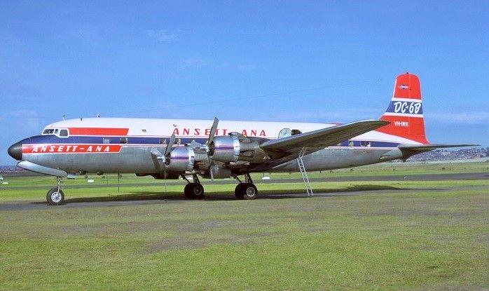 ANSETT ANA Douglas DC - 6B (VH-INS)