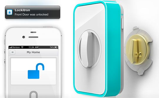 Lockitron: Keyless Entry Using Your Phone Daily Tech Find