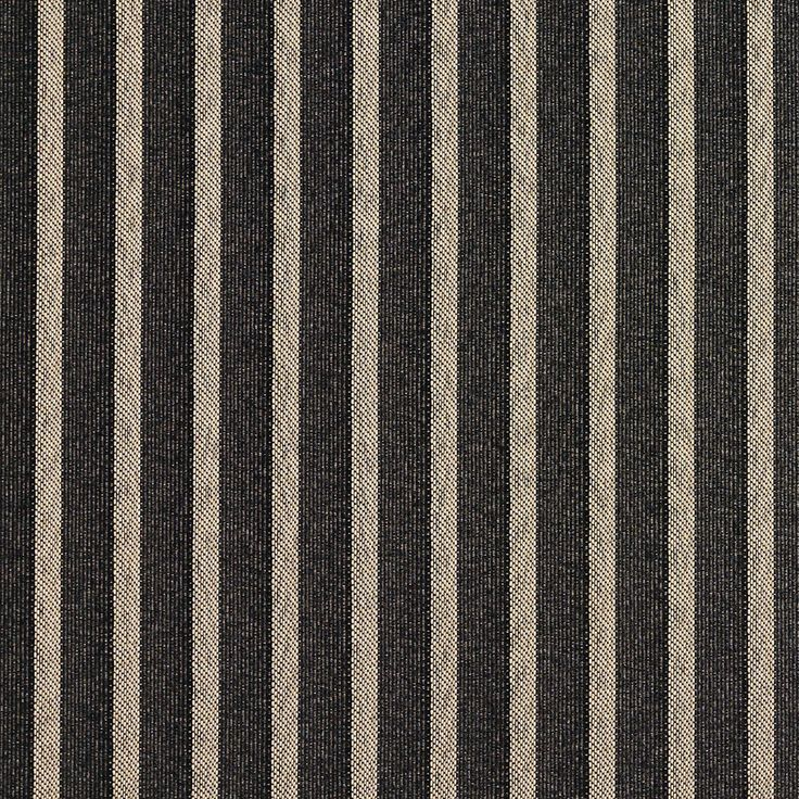 The K3726 ONYX/STRIPE upholstery fabric by KOVI Fabrics features Small Scale, Stripe pattern and Beige or Tan or Taupe, Black as its colors. It is a Damask or Jacquard type of upholstery fabric and it is made of 100% Woven polyester material. It is rated Exceeds 35,000 Double Rubs (Heavy Duty) which makes this upholstery fabric ideal for residential, commercial and hospitality upholstery projects. This upholstery fabric is 54 inches wide.For help Call 8008603105