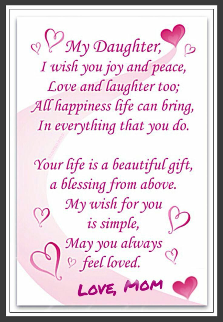 Pin By Ingrid Lutchman On Birthday Daughter Poems Birthday Quotes