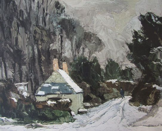 Sir Kyffin Williams KBE RA RCA - Limited Edition Prints - Oriel Tegfryn