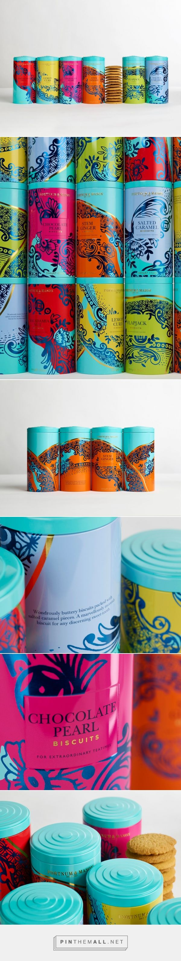 Fortnum & Mason's Biscuits Redesigned - Packaging of the World - Creative Package Design Gallery - http://www.packagingoftheworld.com/2017/05/fortnum-masons-biscuits-redesigned.html