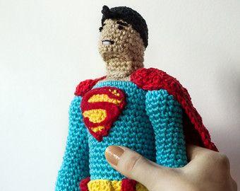 CROCHET PATTERN amigurumi Batman crochet Batman pattern