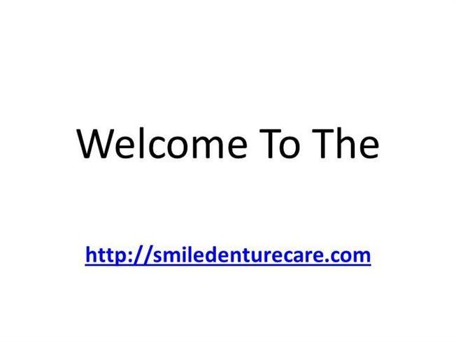 Dental implants for dentures : http://www.authorstream.com/Presentation/mississaugadentu-2122464-dental-implants-dentures/