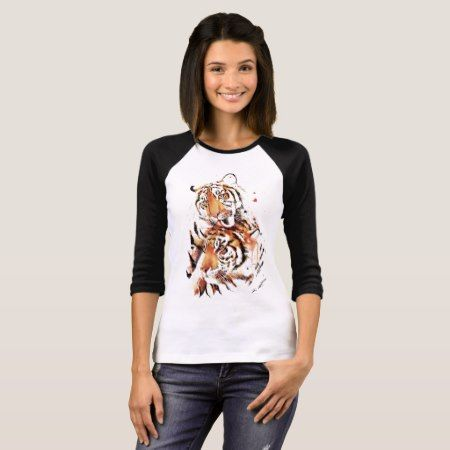 Beautiful tigers, big cats T-Shirt - click/tap to personalize and buy