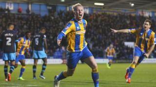 Shrewsbury Town 3-2 Sheffield Wednesday - BBC Sport