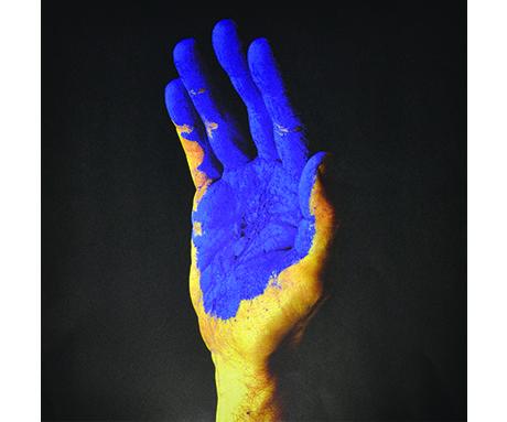 Blue Hand