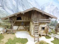 Krippenbausatz / Krippe Almbach / Bausatz zum Krippe selber bauen in Möbel & Wohnen, Feste & Besondere Anlässe, Jahreszeitliche Dekoration   eBay