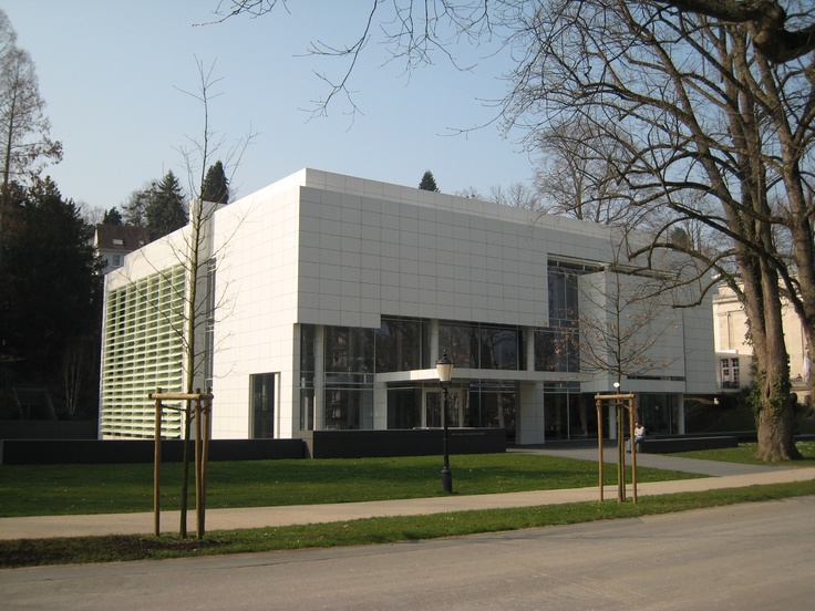 Burda Museum, Baden-Baden; by Richard Meier