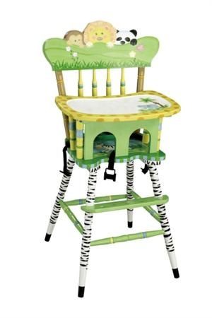 Adorable High Chair Welcome Change From The Tired Old Fisher Price Chairs