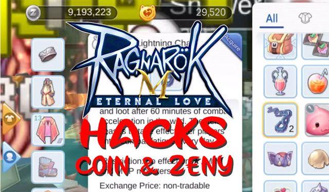 hack ragnarok m eternal saga cheat unlimited coins and zeny mod apk  download v1.0.5