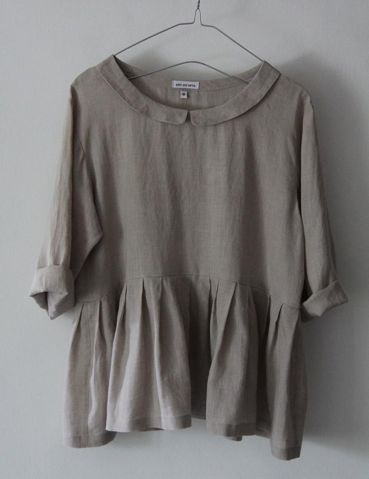 Linen Top. cute design