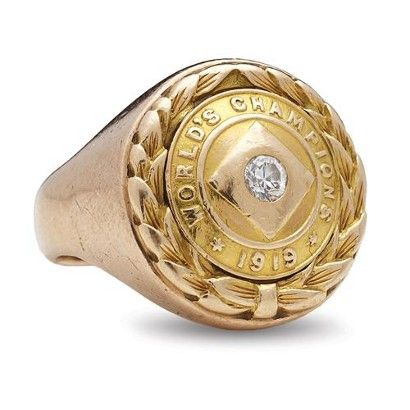1919 World Series ring auctions for $166,000 with Lelands