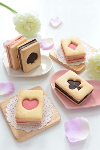 「トランプクッキーのバターサンド」ナナママちゃん   お菓子・パンのレシピや作り方【cotta*コッタ】