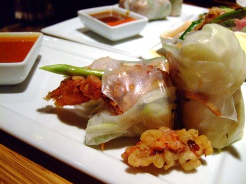 Rice paper roll ideas
