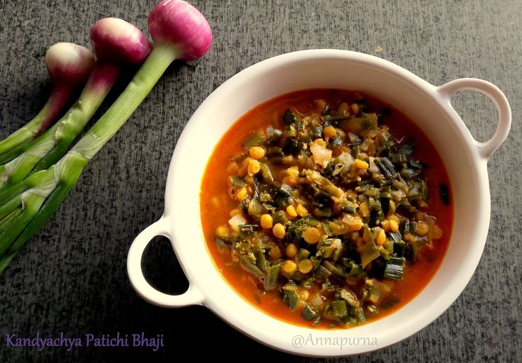 Kandyachi Path is a Marathi name to Spring onions. Spring onion is widely used in salads and in many Chinese preparations. But very ...